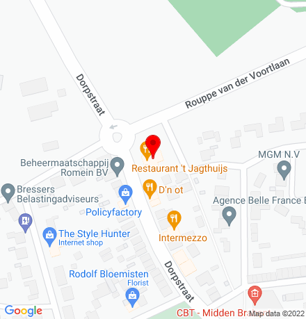 Google Map of Dorpstraat 3 4851 CJ Ulvenhout