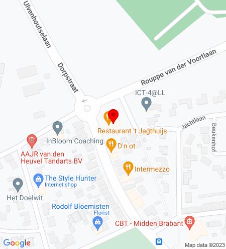 Google Map of Dorpstraat 3 4851 CJ Ulvenhout