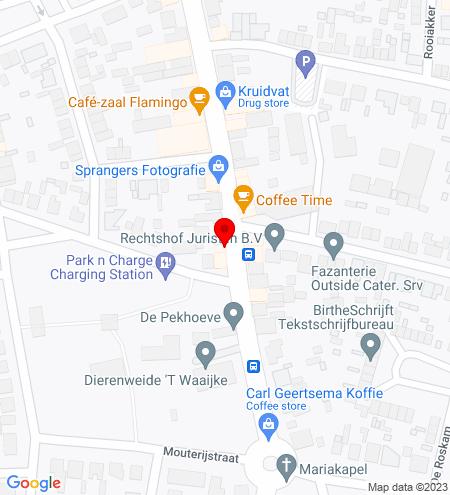 Google Map of Dorpstraat 86 4851 CN Ulvenhout