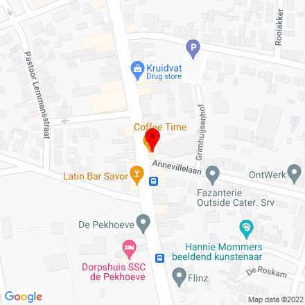 Google Map of Dorpstraat 97 4851 CL Ulvenhout