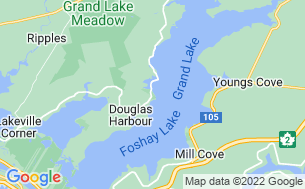Map of Grand Lake Park-NB