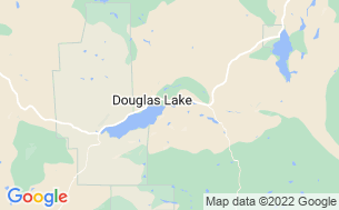 Map of The Douglas Lake Ranch / Salmon Lake Resort / Stoney Lake Lodge & Quilchena Golf Course RV Park