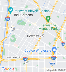 Downey CA Map