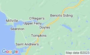 Map of Grand Codroy RV Camping