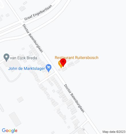 Google Map of Dr. Batenburglaan 111 4837 BP Breda