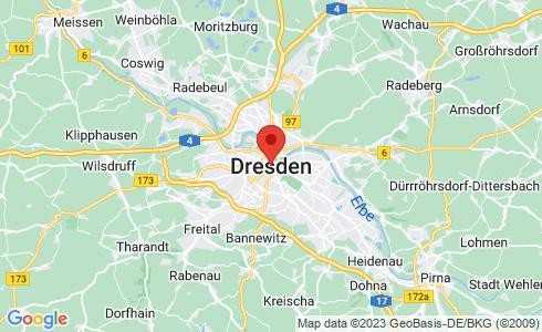 Google Karte - Dresden