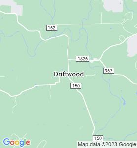 Driftwood TX Map