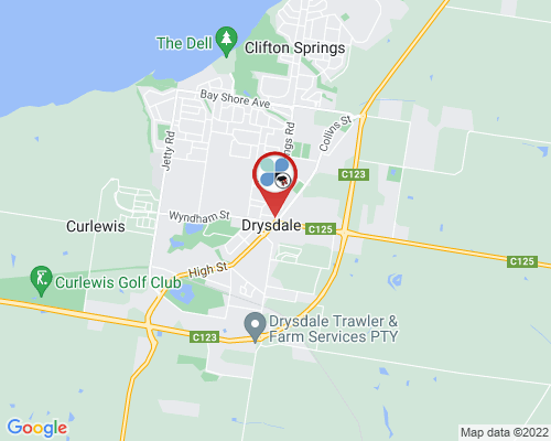 Drysdale google map