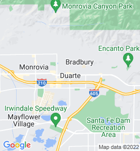 Duarte CA Map