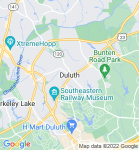 Duluth GA Map