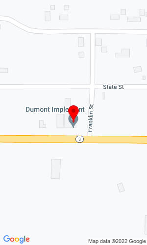 Google Map of Dumont Implement Co., Inc. Highway 3, P.O. Box 188, Dumont, IA, 50625,