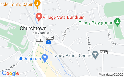 Map of Dundrum Station House, Taney Drive