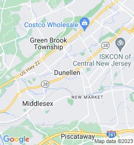 Dunellen NJ Map