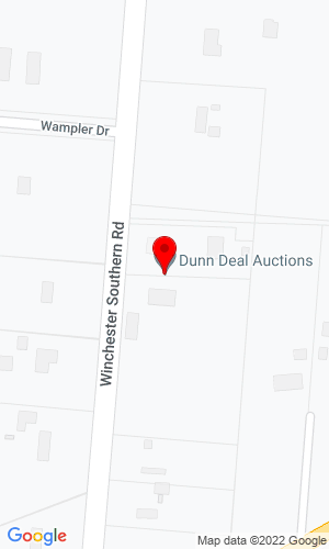 Google Map of Dunn Deal Auction Co. 7026 SR 674 S, Stoutsville, OH, 43154