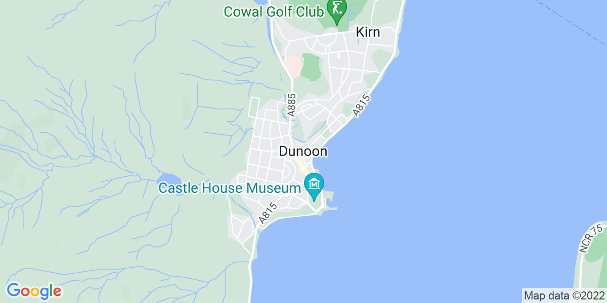 Map: Customer Service Agent role in Dunoon