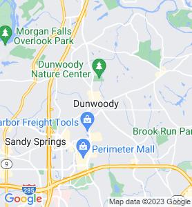 Dunwoody GA Map