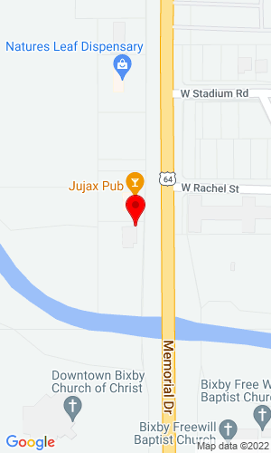Google Map of Dyer Rental & Equipment 465 W North Service Road, Wright City, MO, 63390
