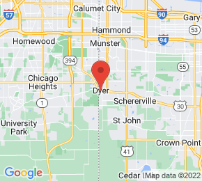 Job Map - Dyer, Indiana  US
