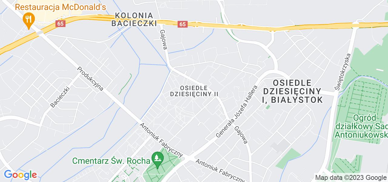 Osiedle Dziesięciny II w Białymstoku – w tych punktach ekspresowo wyślesz turbinę do autoryzowanego serwisu