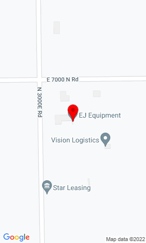 Google Map of E.J. Equipment, Inc. 6949 N. 3000 E. Road , Manteno, IL, 60950,
