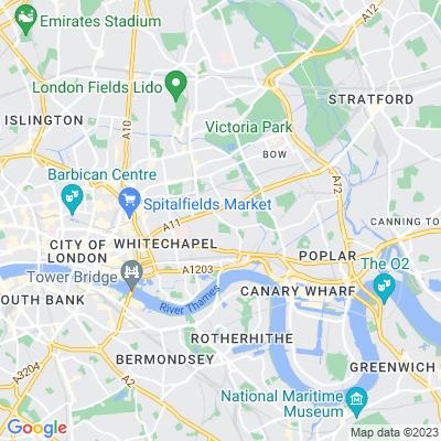 Stepney Green Gardens Location