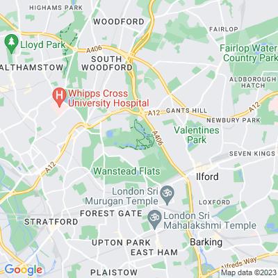 Wanstead Park Location
