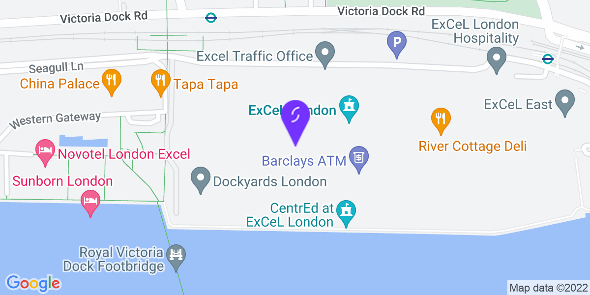 Google Map of E16 1XL