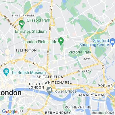 Haggerston Park Location