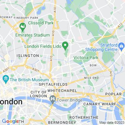 Goldsmith Square Recreation Ground Location