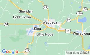 Map of Waupaca Camping Park