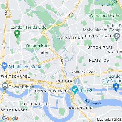 Bromley Recreation Ground Location