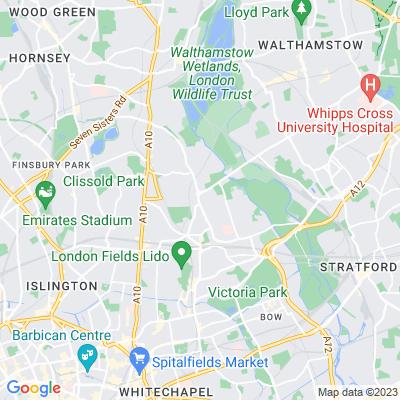 Clapton Pond Location