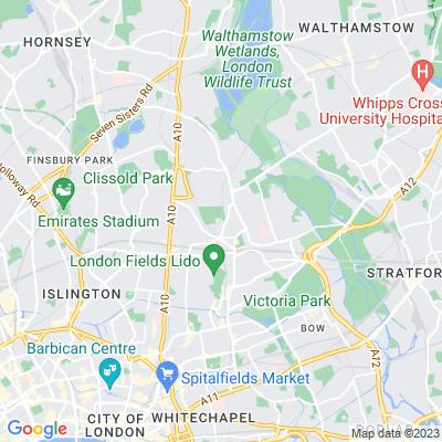 Hackney Downs Location