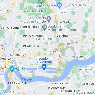 East Ham Jewish Cemetery Location
