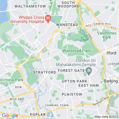 West Ham Cemetery Location