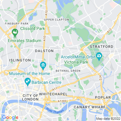 Mare Street Triangle Location
