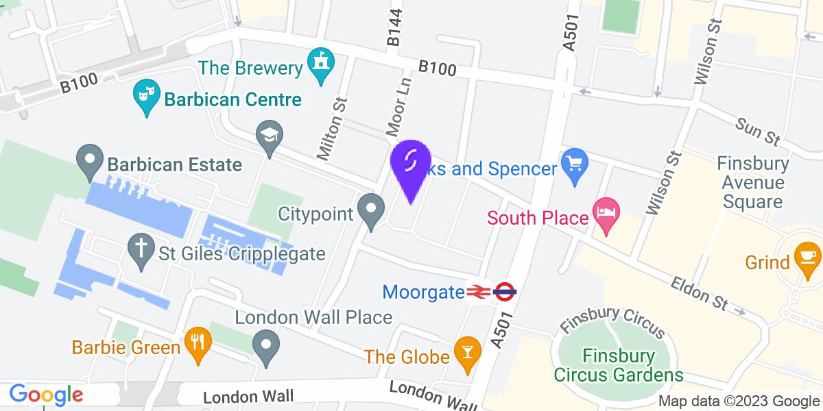 Google Map of EC2Y 9HU