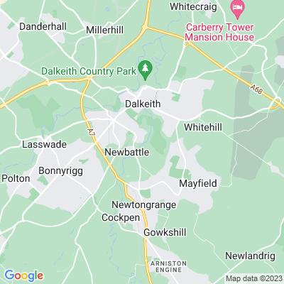 Newbattle Abbey Location