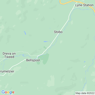 Stobo Castle Location
