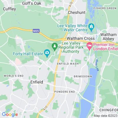 Enfield Crematorium Location