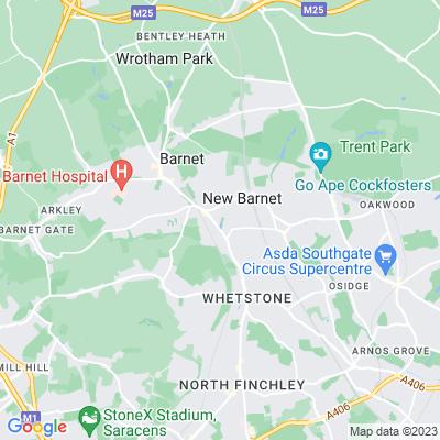 Greenhill Gardens Location