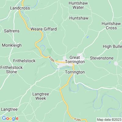 Great Torrington Cemetery Location