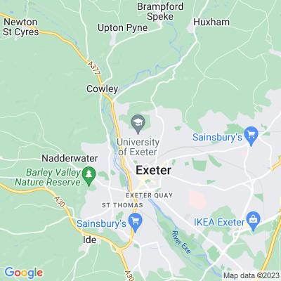 University of Exeter Location