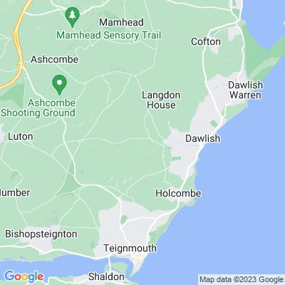 Luscombe Castle Location