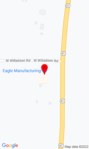 Google Map of Eagle Mfg., Inc. 6570 W Willadsen Road, Rathdrum, ID, 83858