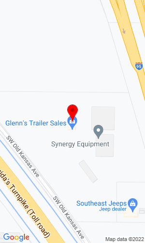 Google Map of Earthmover Construction Equipment LLC 8451 SW Old Kansas Avenue, Stuart, FL, 34997