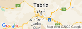 Tabriz map