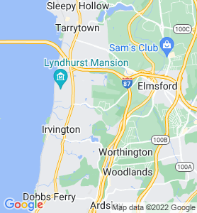 East Irvington NY Map