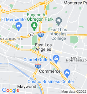 East Los Angeles CA Map