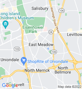 East Meadow NY Map